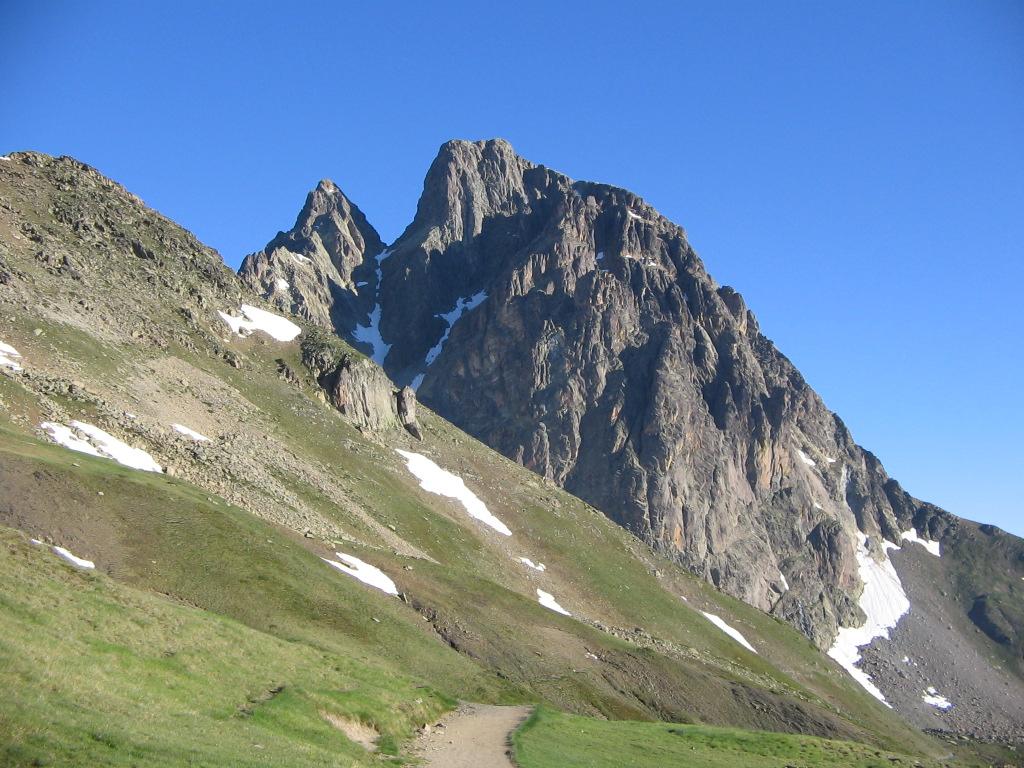 Pic du Midi d'Ossau, versant Sud