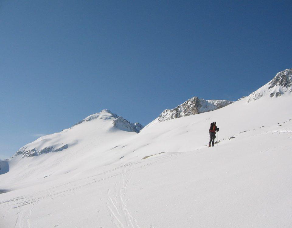 Aneto à ski