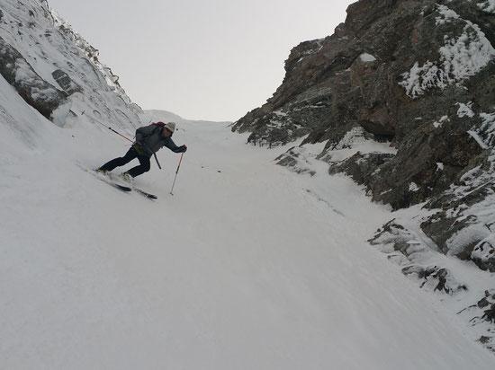 Ski hors-pistes