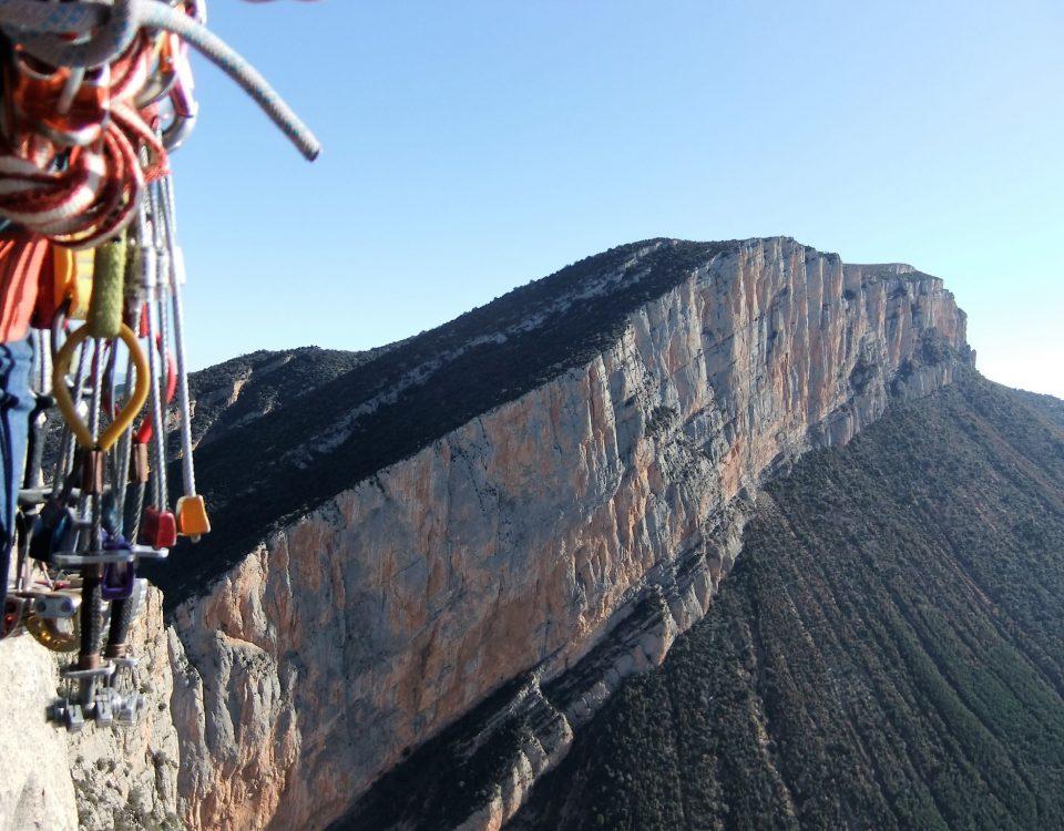 Paroi de Calalogne, Mont Rebeï