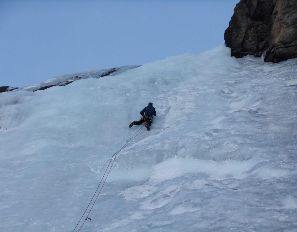 Cascade de glace de Gavarnie - Ice Folle